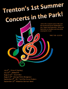 Trenton Summer Concerts